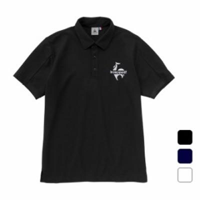 ルコック le coq sportif メンズ スポーツウェア 半袖ポロシャツ QLMRJA44 【2021SS】