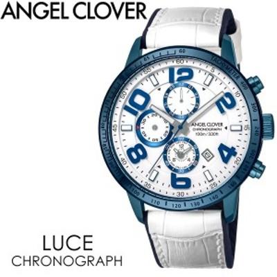ANGEL CLOVER エンジェルクローバー LUCE 腕時計 ウォッチ メンズ 男性用 クオーツ 10気圧防水 クロノグラフ lu44bnvwh