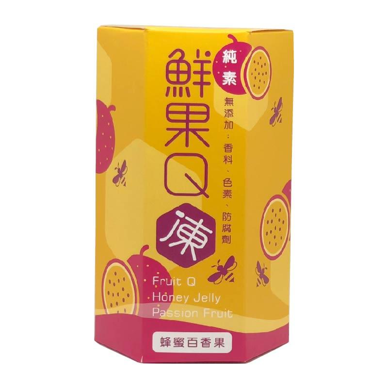 蜜田本舖鮮果Q凍/蜂蜜百香果220g