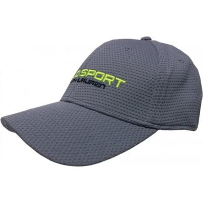 ポロスポーツ ラルフローレン ポリエステル キャップ 帽子 グレイ メンズ POLO SPORT 008