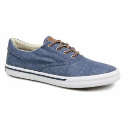 Sperry メンズスニーカー Sperry Trainers Striper II CVO Washed Blue Navy