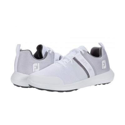 FootJoy フットジョイ メンズ 男性用 シューズ 靴 スニーカー 運動靴 Flex - White