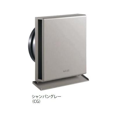 キョーワナスタ KS-8820PH-CG 屋外換気口 樹脂/スリムタイプ 内径Φ100パイプ用 シャンパングレー