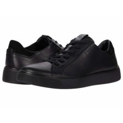 ECCO エコー メンズ 男性用 シューズ 靴 スニーカー 運動靴 Street Tray GORE-TEX(R) Sneaker Black【送料無料】