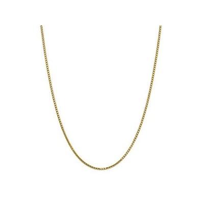 特別価格14k Yellow Gold 1.9mm Link Box Chain Necklace 30 Inch Pendant Charm Fine Je好評販売中