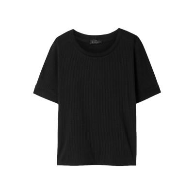 THE RANGE T シャツ ブラック XS 指定外繊維(テンセル)® 70% / コットン 30% T シャツ