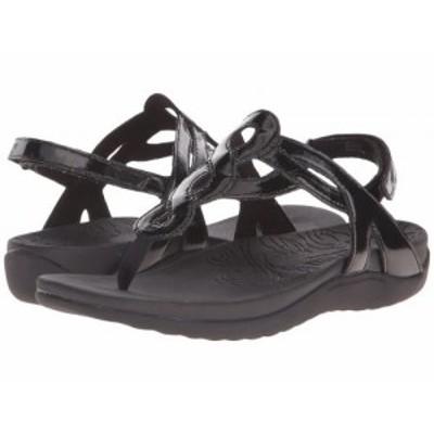 Rockport ロックポート レディース 女性用 シューズ 靴 サンダル Ramona Black Patent【送料無料】