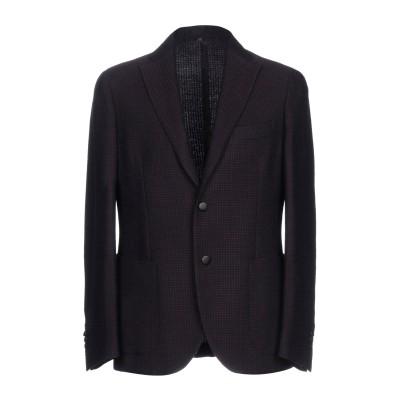 MONTEDORO テーラードジャケット ココア 52 ウール 100% テーラードジャケット
