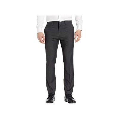 ケネスコール Stretch Textured Weave Slim Fit Dress Pants メンズ パンツ ズボン Charcoal Heather