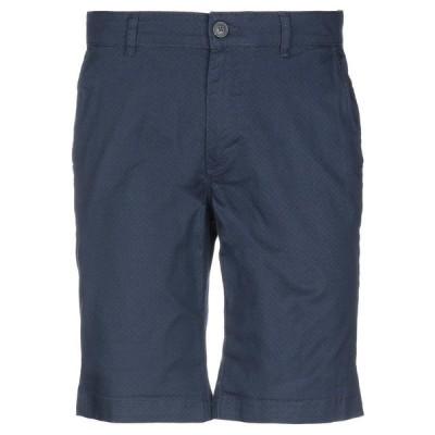 SELECTED HOMME ショートパンツ&バミューダパンツ  メンズファッション  ボトムス、パンツ  ショート、ハーフパンツ ブルー