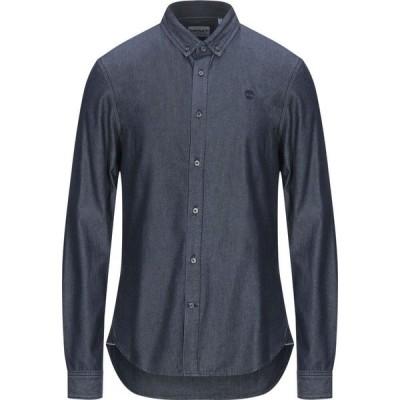 ティンバーランド TIMBERLAND メンズ シャツ デニム トップス Denim Shirt Blue