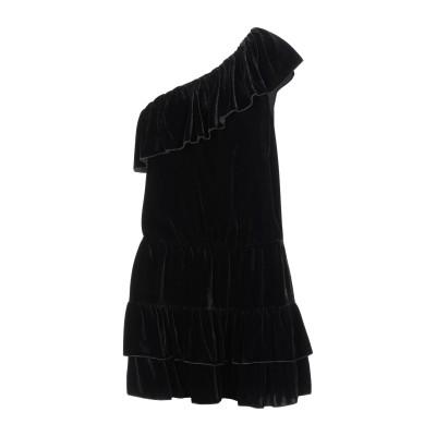 ジョア JOIE ミニワンピース&ドレス ブラック XS レーヨン 80% / シルク 20% ミニワンピース&ドレス