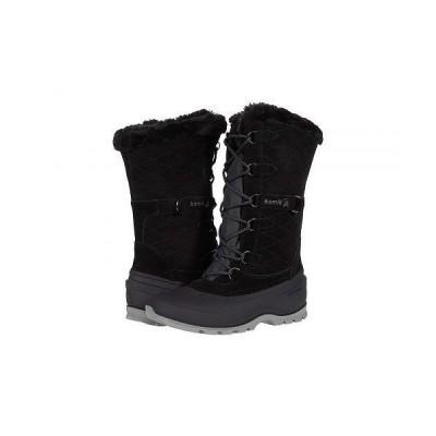 Kamik カミック レディース 女性用 シューズ 靴 ブーツ スノーブーツ Snovalley 3 - Black