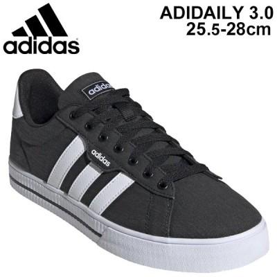 スニーカー メンズ シューズ アディダス adidas ADIDAILY 3.0 M/ローカット 男性 ブラック系 靴 スポーツ カジュアル シンプル KYZ12 くつ/FW7033