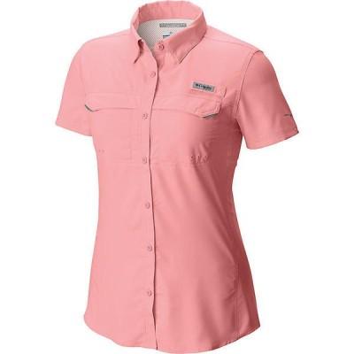 (取寄)コロンビア レディース Lo ドラッグ ショートスリーブ シャツ Columbia Women's Lo Drag SS Shirt Tiki Pink 送料無料