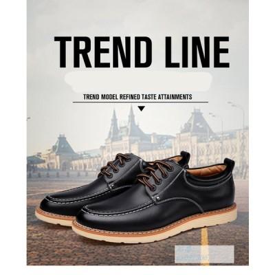 ビジネスシューズ メンズ 革靴  紳士靴  快適 インヒール  カジュアル  ビジネス 靴 柔らか
