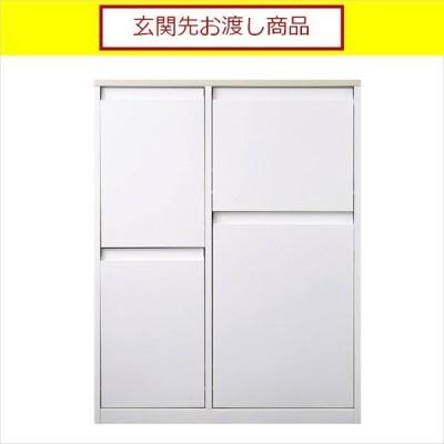 ゴミ箱 分別 おしゃれ キッチン 分別ダストボックス YY-WSB-72 4分別 ランダム WH (玄関先お渡し 完成品)
