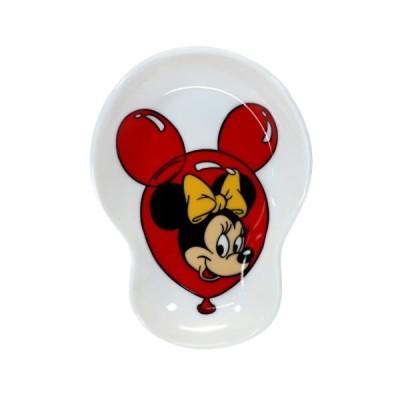 ミニーマウス ディズニー グッズ ミニプレート 磁器製 変形 小皿 バルーン スモールプラネット