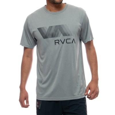 【SALE】RVCA SPORTS メンズ  VA RVCA BLUR SS ラッシュガード【2021年夏モデル】