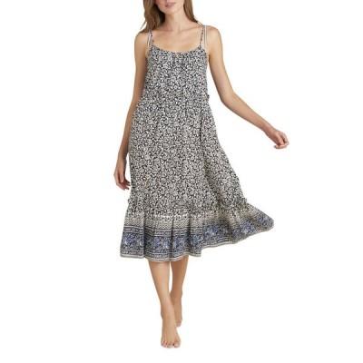 ヴェロニカ ベアード レディース ジャンプスーツ トップス Ayesha Floral Coverup Dress with Flounce Hem