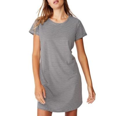 コットンオン レディース ワンピース トップス Tina T-Shirt Dress 2 MINI MOLLY STRIPE RAVEN/WHITE