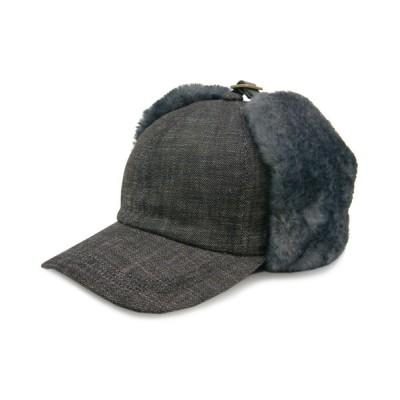 polcadot / EAR COVER DENIM CAP/イヤーカバー デニムキャップ WOMEN 帽子 > キャップ