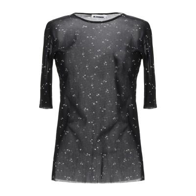 ジル サンダー JIL SANDER T シャツ ブラック XL ナイロン 100% T シャツ