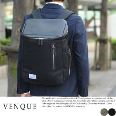 VENQUE バックパック メンズ AMSTERDAM Black Edition VENQUE ビジネスリュック メンズ B4