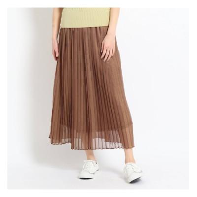 【デッサン/Dessin】 【S~M/ウエストゴム】ラメプリーツスカート