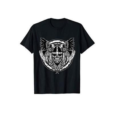 カラス 北欧神話 オーディン ギフトアイデア バイキング Tシャツ