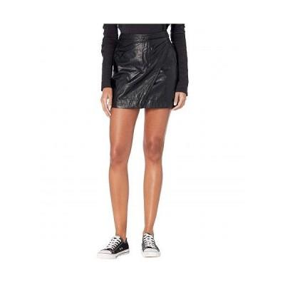 Free People フリーピープル レディース 女性用 ファッション スカート Fake Out Faux Wrap Skirt - Black
