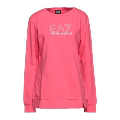 EA7 スウェットシャツ コーラル XL コットン 96% / ポリウレタン 4% スウェットシャツ