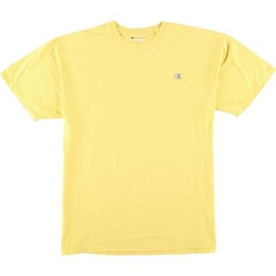 チャンピオン ワンポイントロゴTシャツ メンズXL /eaa064468