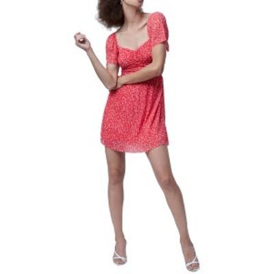 フレンチコネクション レディース ワンピース トップス Leo Memphis Fit & Flare Dress LOLLIPOP RED MULTI