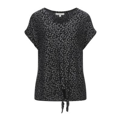 GARCIA T シャツ ブラック XS レーヨン 93% / ポリウレタン 7% T シャツ