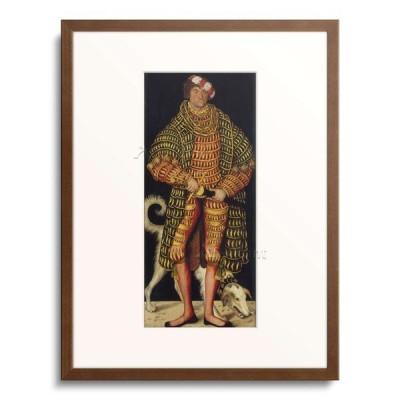 ルーカス・クラナッハ(父) Lucas Cranach der Altere 「Portrait of Henry the Pious, Duke of Saxony. 1514」
