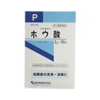 【第3類医薬品】ケンエー ホウ酸 (3g×18包)