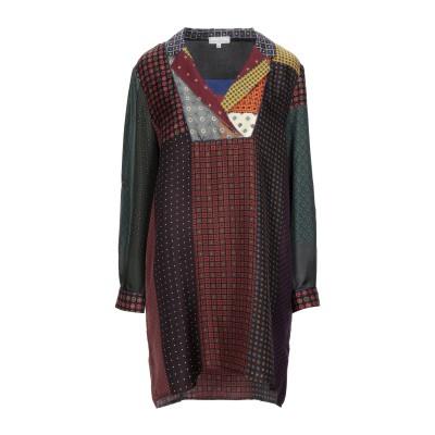 ピエール・ルイ・マシア PIERRE-LOUIS MASCIA ミニワンピース&ドレス ディープパープル M シルク 100% ミニワンピース&ドレス