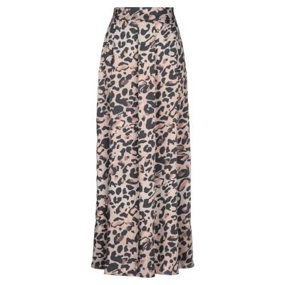 ジジル JIJIL ロングスカート サンド 40 ポリエステル 100% ロングスカート