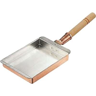丸新銅器 銅玉子焼 関西型 16.5cm 060011(直送品)