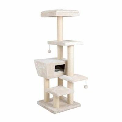 JIANXIN スクラッチポスト、猫の木、猫スクラッチポスト、猫の家と猫のおも(新古未使用品)