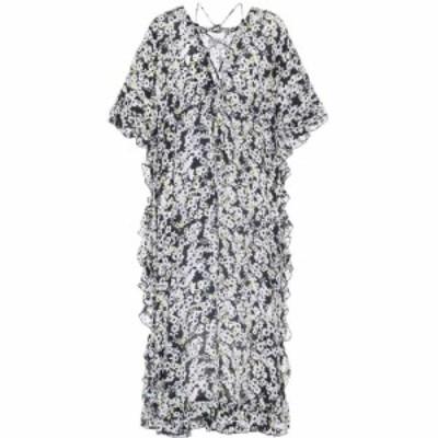 クロエ See By Chloe レディース ワンピース ワンピース・ドレス floral-printed crepe dress Multicolor