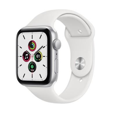 Apple Watch SE GPSモデル 44mm ◎アップルウォッチ MYDQ2J/A ホワイトスポーツバンド [新品] /AW 10