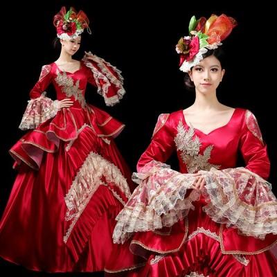 パーティードレス 学園祭 文化祭 舞踏会 オペラ 貴族 舞台 イベント 衣装 舞台 ステージ衣装 演劇 オペラ声楽 カラードレス パーティードレス 宮廷ドレス