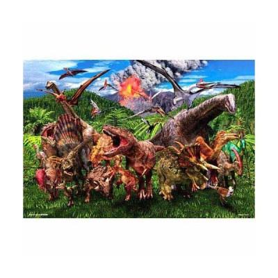 ジグソーパズル 150ラージピース 大恐竜ワールド L74-175
