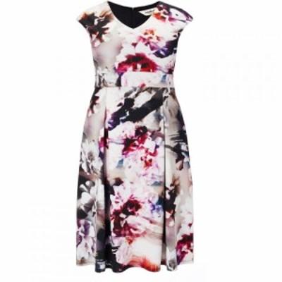 スタジオ8 Studio 8 レディース ワンピース ワンピース・ドレス Plus Size Becky scuba dress Multi-Coloured