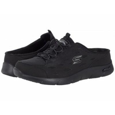 SKECHERS スケッチャーズ レディース 女性用 シューズ 靴 スニーカー 運動靴 Arch Fit Refine Black【送料無料】