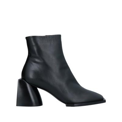 ヌメロ ヴェントゥーノ N°21 ショートブーツ ブラック 37.5 革 ショートブーツ