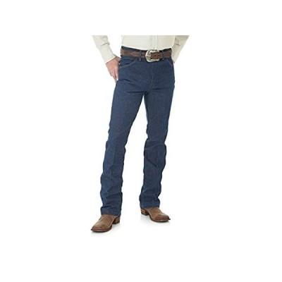 海外輸入品WranglerメンズWestern Bootcut Slim Jean US サイズ: 33-32 カラー: ブルー
