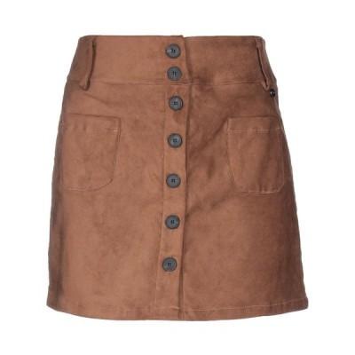 TENSIONE IN ミニスカート  レディースファッション  ボトムス  スカート  ロング、マキシ丈スカート ブラウン